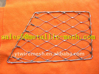 Metal wire mesh fence - high safety wire mesh fence zoo enclosure