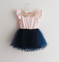 TuTu Summer One piece baby girl kids SEQUIN flower tutu dress floral tutu dress one-piece jumper ruffles tulle layers princess lace costumes sequin dress 5