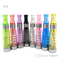 Non Changeable 1.6ml Plastic Ego CE4 Atomizer Vaporizer CE 4 Cartomizer for electronic cigarette E cig Ego CE4 Tank Free DHL Code D