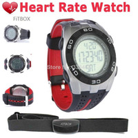 Unisex bicycle calories - Chest Strap Body Fitness Heart Rate Monitor Watch Calorie Counter Pedometer Bicycle Cycling Watch Outdoor Running Sports Watch