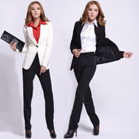Women Skirt Suit Formal 2014 spring new autumn fashion women pant suits for ladies ol career suits female business sets slim skinny free shipping
