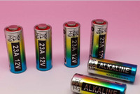A27  23a battery - 2000pcs V A A23 Alkaline battery for Door bell remote control Safty product MP3 Walkman Toys lighter