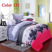 Wholesale hot selling Mickey Mouse bedding cover comforter set sheets for queen king size beds cheap bedding sets for grils for boys for sale