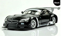 Wholesale 1 Alloy Diecast Car Model FortheBMW Z4 GT3 Collection Powerful Pull Back Toys Car With Sound Light Black