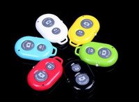 Wholesale Wireless Bluetooth Remote photo Camera Control Self timer Shutter for iPhone6 Iphone s s Galaxy S5 S4 S3 Note3 Android phone DHL EMS