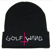 Knitted Beanies with Letters for Unisex 100% Acrylic Hats Go...
