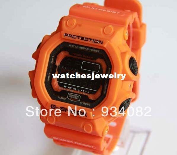 hottest mens orange watches online hottest mens orange watches whole hot selling orange multifunctional g watch gx 56 4dr sports electronic watch mens watch gx56 watch