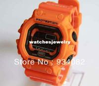 Cheap Wholesale-Hot selling! orange Multifunctional G watch gx-56-4dr sports electronic watch mens watch gx56 watch