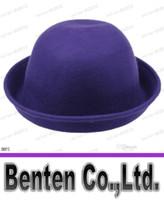 Wholesale Fashion Vintage Men Women Cashmere Cloches Cap Hat Chic Adorable Elegant Bowler Hat Colors Choose LLFA5897