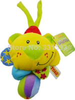 Teddy Bear Multicolor Plush Musical Tolo LIon plush for baby child brand product music box bed car hanging development toys 0-12 months toys TLPD0002
