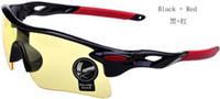 al por mayor sunglasses bike-Envío de la nueva actualización de ciclo de la bicicleta de la bici Deportes gafas de moda gafas de sol de los hombres / de las mujeres de montar vidrios de la pesca