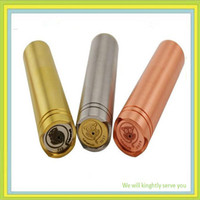 Wholesale 2014 new arrived e cig mod nine e cig mechanical mod with magnet switch Stainless steel brass copper red copper you can choose free DHL