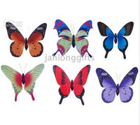 Wholesale Hand Made Cloth Butterfly Fridge Magnet Fridge magnets Home Decoration