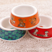 Wholesale BX00011Pet bowl dog bowl dog puppy with a small single bowl melamine bowl