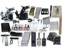 Beginner Kit   USA Dispatch_NEW Professional Machines Tattoo KIT 2 Machine GUN Equipment INK GUN SET US0005