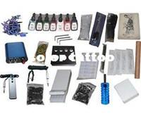 Beginner Kit   USA Dispatch_NEW Professional Machines Tattoo KIT 1 Machine GUN Equipment INK GUN SET US0015