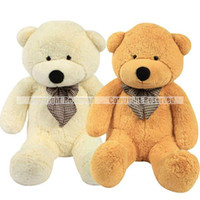 giant teddy bear - S5Q Hot Giant Big Cute Plush Teddy Bear Huge Soft Cotton Stuffed Animal Toy Gifts AAABXL