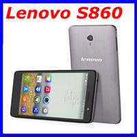 Wholesale Lenovo S860 mobile phone inch IPS MTK6582 Quad Core GHz Android Dual SIM GB RAM GB Rom Dual SIM mAh battery