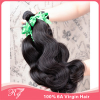 Brazilian Hair Body Wave Body Wave RY Hair Grade AAAAAA brazilian virgin hair body wave, Mixed 3pcs lot brazilian hair ,free shipping hair extensions can be dyed & bleached