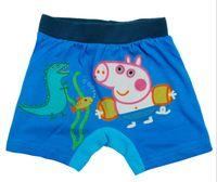 Boy Swim Trunks 2-6 year 2014 Swim suit Boys Swimming trunks Peppa Pig Children Cartoon Bathing slips Kids Short pants 5pcs lot TX823