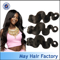 Brazilian Hair Body Wave Factory Direct Supply Large in stock 3 4pcs lot free shipping Brazilian virgin hair human hair weave natural color can be dyed and bleached