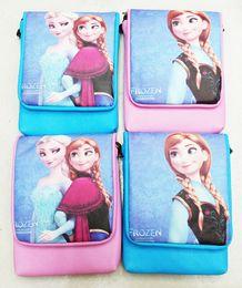 Wholesale New Frozen Children s Bags Girl s Frozen Shoulder Bags Messenger Bags for Girls Frozen Princess Elsa Handbags Style A0643