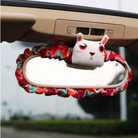Wholesale Carrie was new original lovely grass mud horse series auto rearview mirror the collection to traffic within the package mail ornament