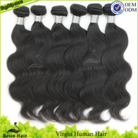Wholesale Cheap Human Hair Extensions 5A 3 Bundles Russian V...