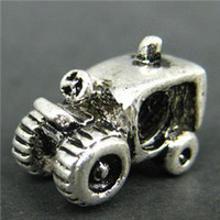 Bead Caps amazing order - Min order pc Truck Bead Charm Amazing Silver Bead Fit DIY Necklace Bracelet H412
