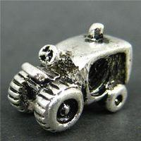 Wholesale Min order pc Truck Bead Charm Amazing Silver Bead Fit DIY Necklace Bracelet H412