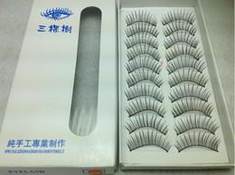 Wholesale Beautiful Make Up Mixed Style Black false eyelashes Eye Lashes Voluminous Makeup Handmade eyelashes Sets pair with Retail package