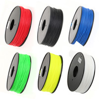 Wholesale US Stock Different Color for Plastic mm mm ABS PLA HIPS D Printer Filament welding rods for Makerbot Mendel Prusa Huxley BFB series