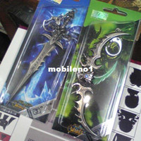 world of warcraft - The World of Warcraft cosplay keychain cell phone strap set set b0360