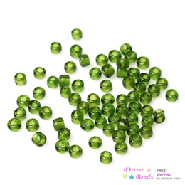 10 0 Glass Seed Beads Jewelry Making Round Dark green About 2mm x 2mm,Hole:Approx 1mm,150 Grams(18750PCs Bag) (B33621)
