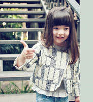 Wholesale 2014 Baby Girls Cotton Zipper Jackets Kids girl fashion white pink western Outwear