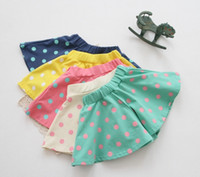 Girl Spring / Autumn Children 2014 new Girls dot cut Style Shorts skirt Kids Children casual Short Pants Baby Girl Summer Clothing kids skirt Free Shipping