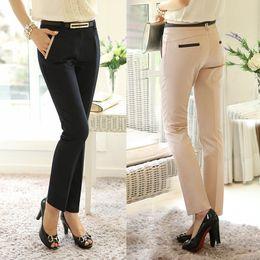 Wholesale Summer Ladies Casual Pants New Spring Women s Legging Pants Female Long Trousers Plus Size Harem Pants G0512