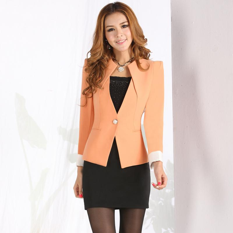 2014 Korea Style Fashion OL New Style Career Skirt Suit Dress ...