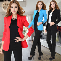 Women Skirt Suit Formal New 2014 Spring Autumn Plus Size Formal Pant Suits for Women Blazer Jackets Fashion Ladies Office Work Suits Business Sets