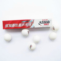 Wholesale 5 Boxes Stars DHS MM Olympic Table Tennis White Ping Pong Balls Good