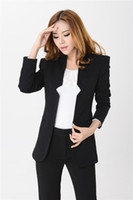 Women Skirt Suit Formal New 2014 Fashion Pant Suit for Women Business Sets Formal Female Blazers Ladies Clothing Sets Work Elegant Black