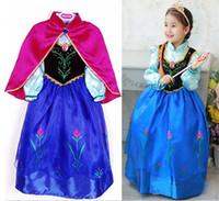 Cheap TuTu children dress Best Summer A-Line frozen dress