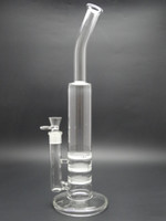 -20~150°C honey - 16 inch Glass water pipes glass bong glass smoking pipe glass water pipe with honey comb perc mm
