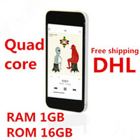 Wholesale Quad Core MTK6582 cellphone i5s inch Screen android GHz Smartphone RAM GB ROM GB