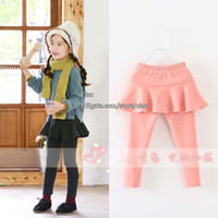 Wholesale Child Clothing Girls Tights Childrens Pants Kids Leggings Tights Girl Clothes Leggings Pants Fashion Long Trousers Children Leggings Tights