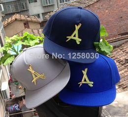 Wholesale 2014 New fashion THA Alumni Gold Logo Leather Snapback Caps Black Red Brand Hip Hop Men s Adjustable sports letter hats