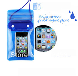 Large Album Water Proof Mobile Phone Case Waterproof Bags Cases Underwater Diving Floating Pouch Pink Blue