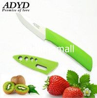 "Ceramic 3 Green SKU172 ADYD 3"" Ceramic Knives health Eco-friendly Zirconia kitchen Fruits Ceramic Knives for Modern Kitchen -green"