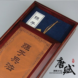 Wholesale Unique gift hualishan ridel represatation this silk bridgeis Master Sun s Art of War Military Science Chinese ancient military book