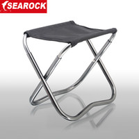 Yes SEAROCK Haiyan versatile folding stool . Searock / Haiyan Genuine Haiyan outdoor multifunctional portable folding beach chair fishing chair stool fishing stool Mazar
